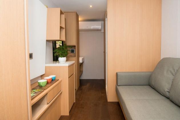 房型8,兩人房(Q size雙人床+沙發) –車號 18:露營時光Ⅱ 3